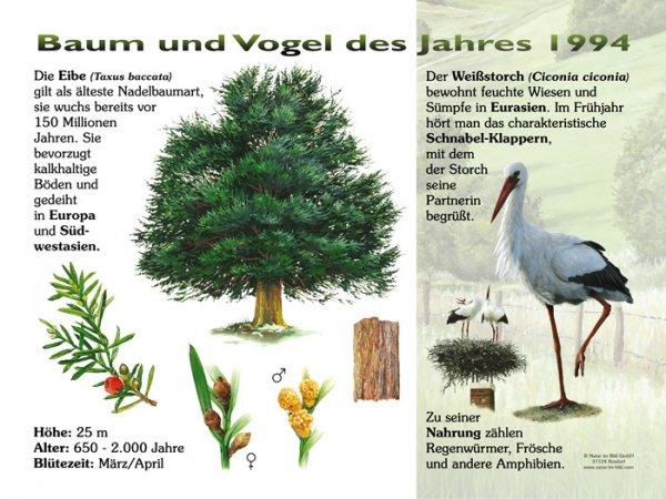 Baum und Vogel des Jahres 1994