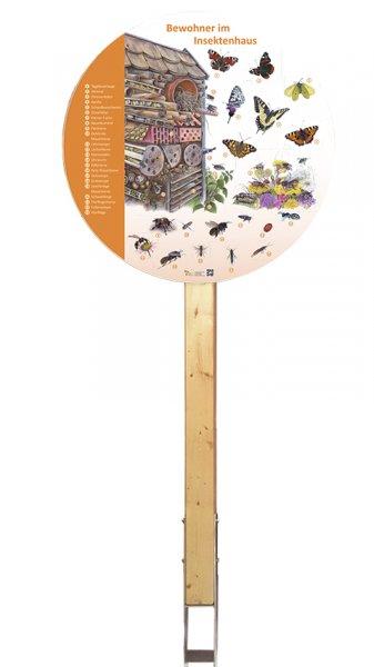Bewohner im Insektenhaus