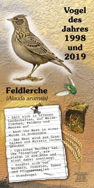 Feldlerche - Vogel des Jahres 2019
