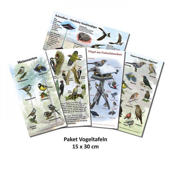 Paket Vogeltafeln