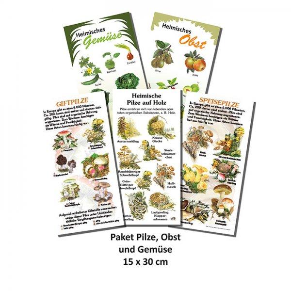 Paket Pilze, Obst und Gemüse