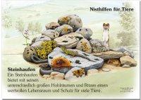 Nisthilfe für Tiere - Steinhaufen