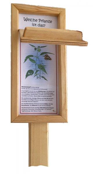 Holz-Trägergerüst mit Holzklappe