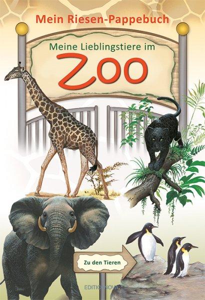 Meine Lieblingstiere im Zoo - Kinderbuch