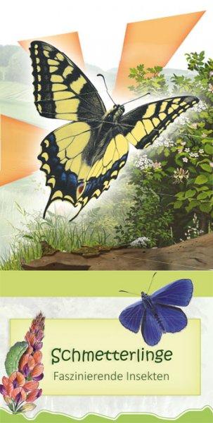Faltblatt Schmetterlinge
