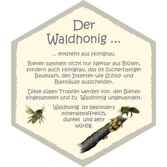 Wabe Waldhonig