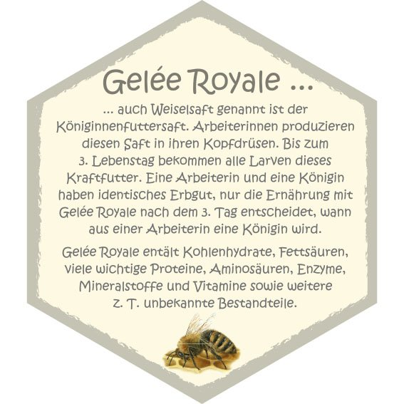 Wabe Gelée Royale