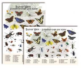 Bunte Welt - Schmetterlinge und Käfer