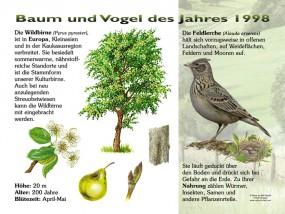 Baum und Vogel des Jahres 1998