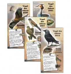 48 Vögel des Jahres 1970-2017 - Paket