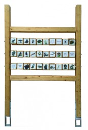 Holz-Trägergerüst Memory