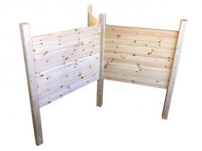 3 wandiges Holz-Trägergerüst