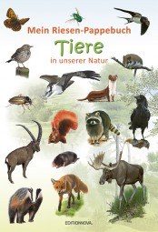 Tiere in unserer Natur - Kinderbuch