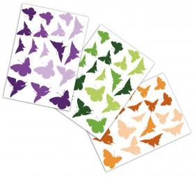 Schmetterlinge Wandaufkleber